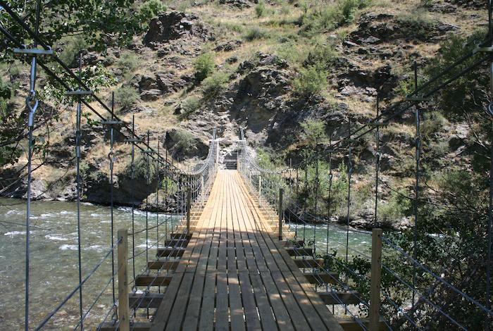 Pont Penjant a Rialp, Pallars Sobirà 2007