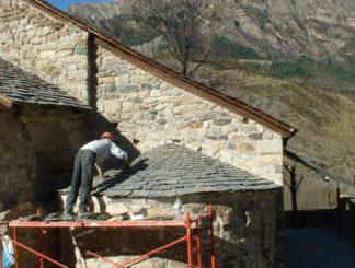 L'equipament i experiència de iMuntanya, un bon aliat en reparacions i intervencions en el Patrimoni Cultural