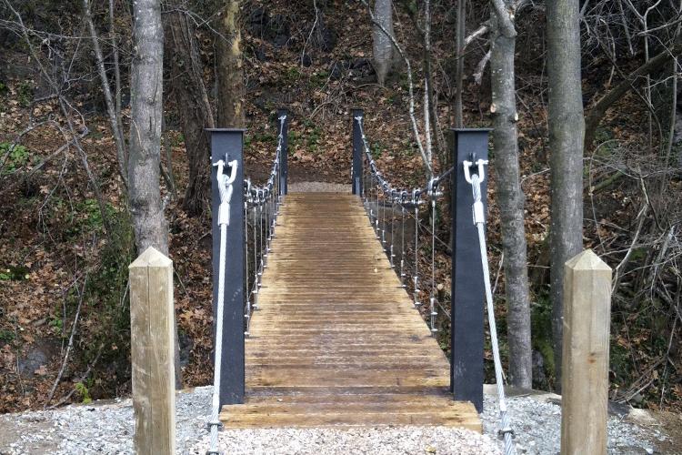 pont penjant PN del Montseny